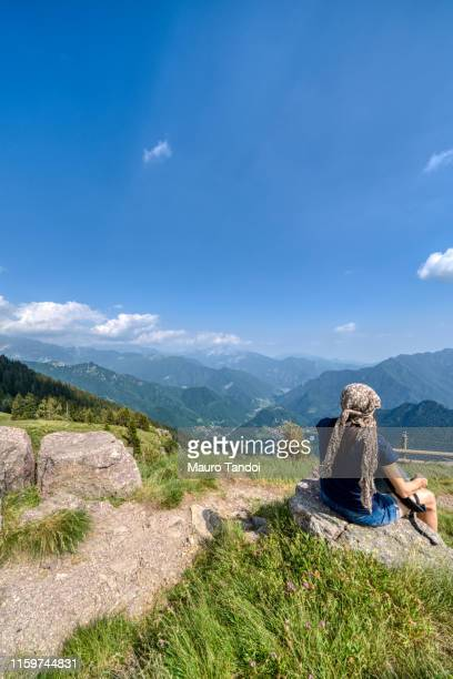 piani dell'avaro (avaro plateau), cusio, bergamo, italy - mauro tandoi stock photos and pictures