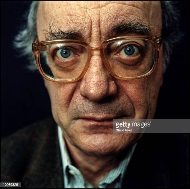 Pianist Alfred Brendel poses for a portrait shoot in London UK