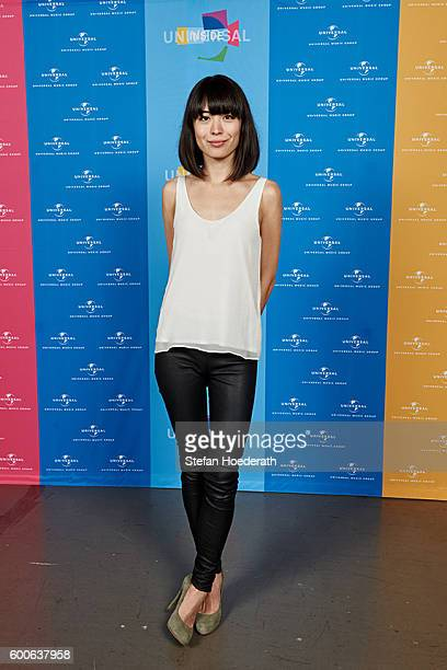 Pianist Alice Sara Ott poses for a photo during Universal Inside 2016 organized by Universal Music Group at MercedesBenz Arena on September 8 2016 in...