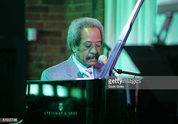 Pianist Allen Toussaint performs at the Tribeca/ASCAP Music Lounge at the Canal Room May 5 2006 in New York City