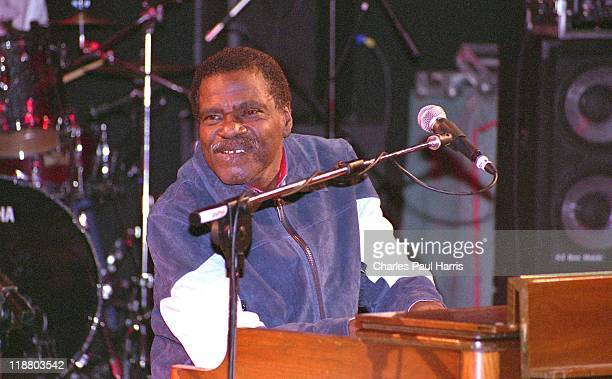 Pianist and organist Billy Preston performs live at the Porretta Soul Festival on July 1, 2005 in Porretta Terme, Italy.