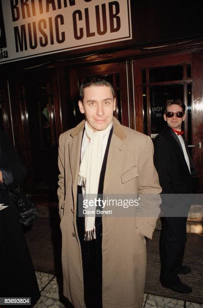 Pianist and television presenter Jools Holland attends The BRIT Awards at the Dominion Theatre on February 10 in London, England.