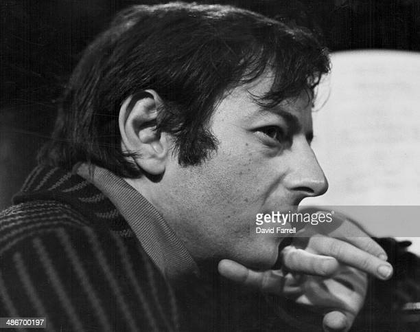 Pianist Andre Previn in a posed portrait circa 1970