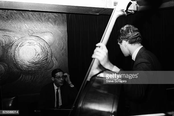 Pianist Bill Evans during rehearsals at the Village Vanguard.