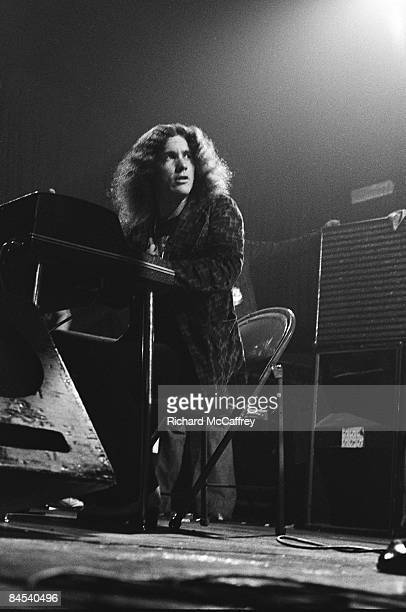 Pianist Billy Powell of Lynyrd Skynyrd performs live at the City Fairgrounds in 1974 in San Jose California