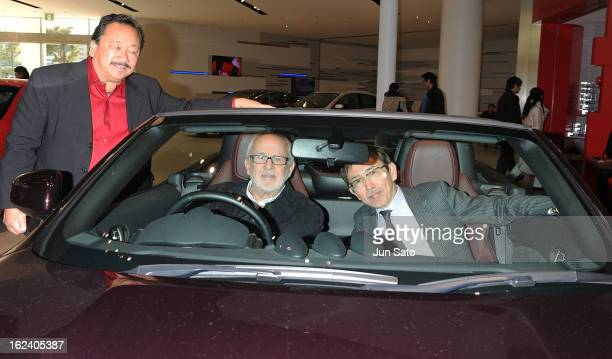 Pianist/ composer Bob James and Chief Creative Officer of Nissan Motor Co LTD Shiro Nakamura attend the Jazz Japan Award Ceremony at Nissan Motor Co...