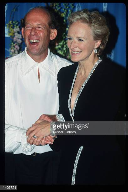 Pianist David Helfgott and his wife attend the 69th Annual Academy Awards ceremony March 24 1997 in Los Angeles CA