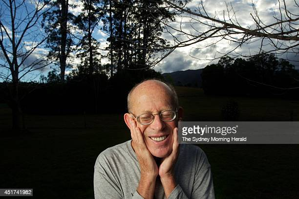 Pianist David Helfgott at his property in Bellingen NSW July 17 2012