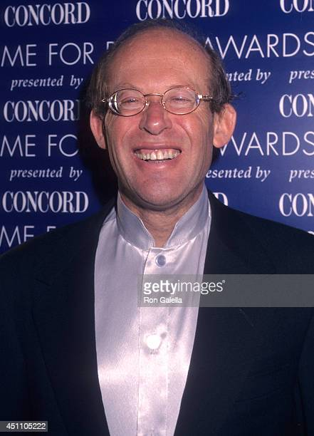 Pianist David Helfgott attends the Time for Peace Awards on November 17 1997 at Carnegie Hall in New York City