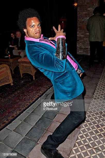 Pianist ELEW attends the Blue Man Group's 20th anniversary reunion show after party at The Bowery Hotel on April 13 2011 in New York City