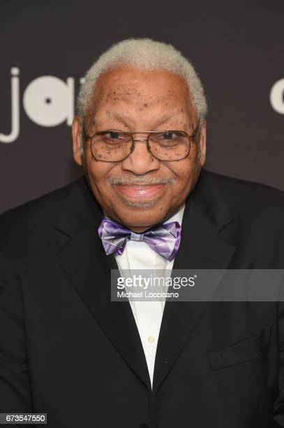 Pianist Ellis Marsalis attends the Jazz at Lincoln Center 2017 Gala Ella at 100 Forever the First Lady of Song on April 26 2017 in New York City
