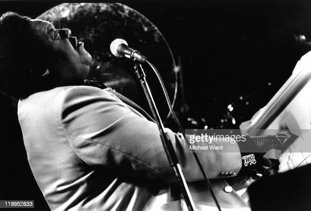 Pianist Fats Domino performing at the Royal Albert Hall London Britain 1990