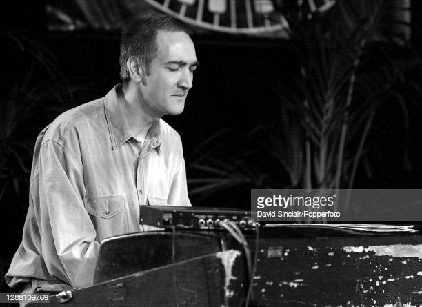 Pianist Graham Harvey performs live on stage at London Jazz Festival on 17th November 2001