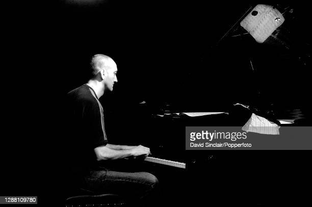 Pianist Graham Harvey performs live on stage at Ronnie Scott's Jazz Club in Soho London on 1st November 2007