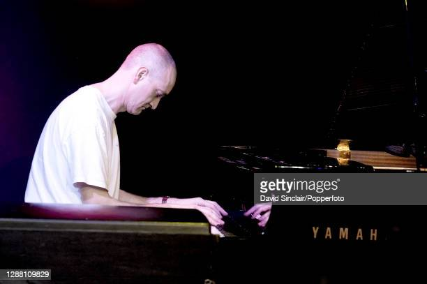 Pianist Graham Harvey performs live on stage at Ronnie Scott's Jazz Club in Soho London on 29th October 2012