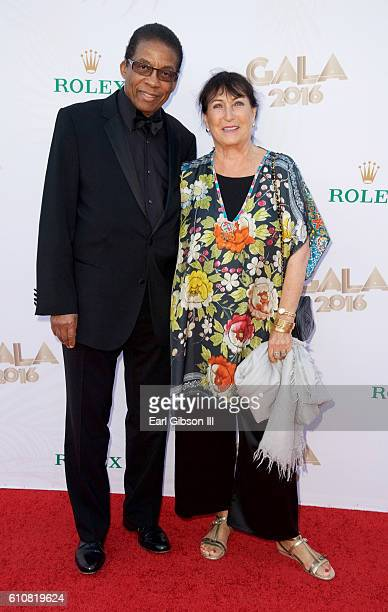 Pianist Herbie Hancock and wife Gigi Hancock attend the Los Angeles Philharmonic 2016/17 Opening Night Gala Gershwin and the Jazz Age at Walt Disney...