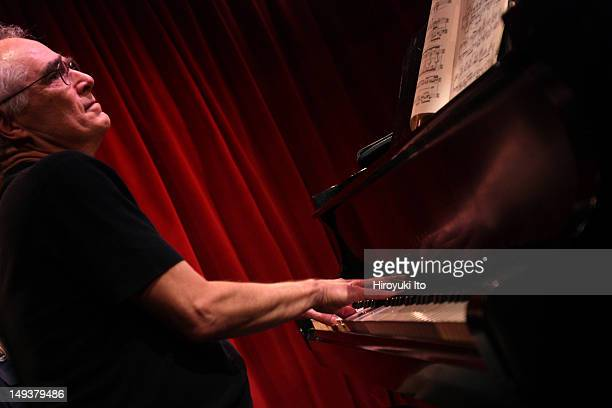 Pianist Jerome Kuderna performing at the opening night of ManoaMano Festival at the Cornelia Street Cafe on Sunday August 21 2011 He performed the...