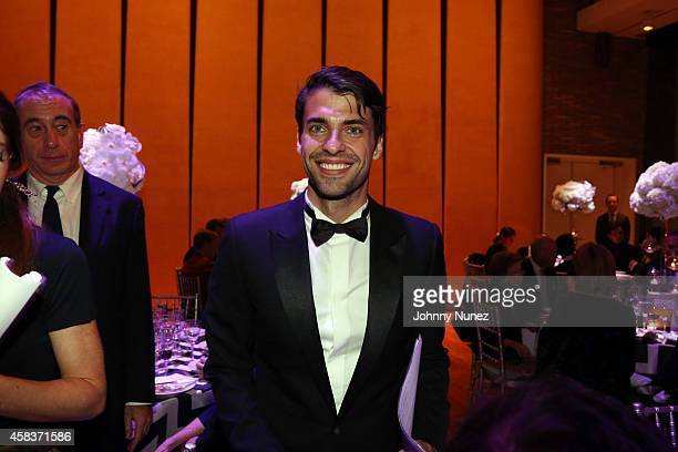 Pianist Jorge Viladoms attends the Luz de Luna Piano Violin and Dance Concert at Carnegie Hall on November 3 in New York City