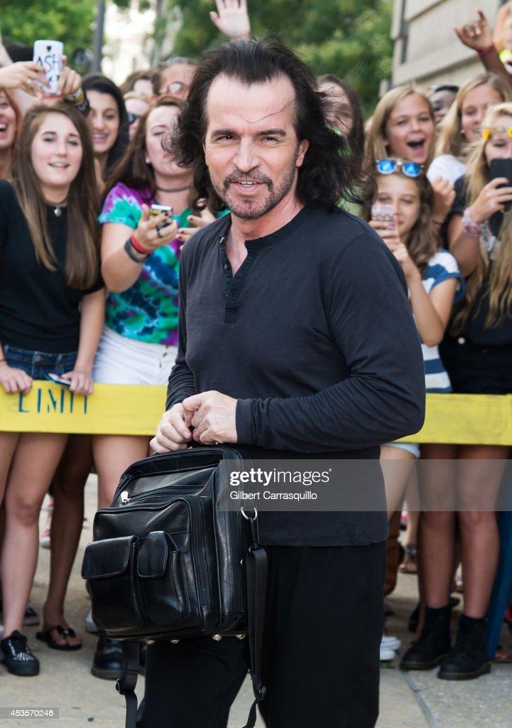 Celebrity Sightings In Philadelphia - August 13, 2014