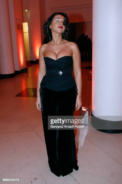 Pianist Khatia Buniatishvili attends the Gala evening of the PasteurWeizmann Council in Tribute to Simone Veil at Salle Pleyel on December 20 2017 in...