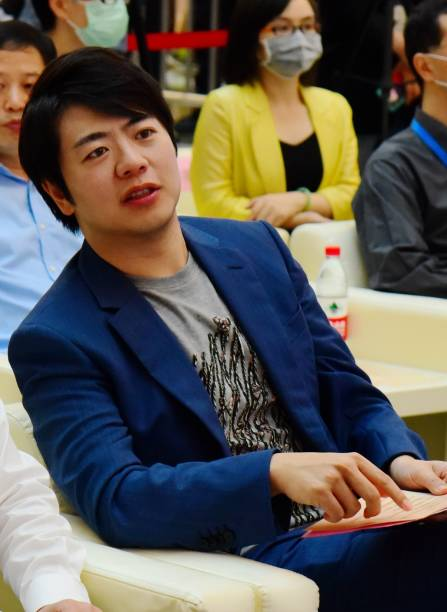 CHN: Lang Lang Attends Charity Event In Hangzhou