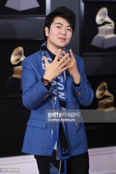Pianist Lang Lang attends the 60th Annual GRAMMY Awards at Madison Square Garden on January 28 2018 in New York City
