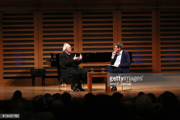 Pianist lecturer and Liszt interpreter Alfred Brendel is interviewed by British journalist Principal of Lady Margaret Hall Oxford and the former...