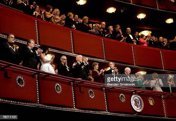 Pianist Leon Fleisher musician Brian Wilson singer Diana Ross director Martin Scorsese actor Steve Martin Secretary of State Condoleezza Rice First...