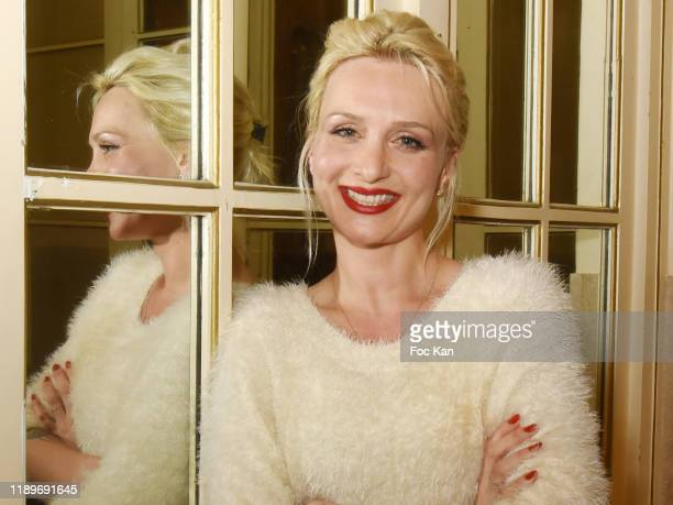 Pianist Lison Mezzina attends the Poesie En Liberté 2019 Awards Ceremony At Mairie Du 5eme on November 23 2019 in Paris France
