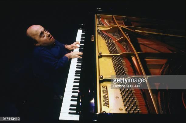 Pianist Michel Petrucciani In Concert, Paris, February 9, 1993.
