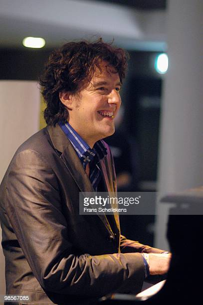 Pianist Michiel Borstlap performs at tHe North Sea Jazz Festival in The Hague, Holland on July 09 2004
