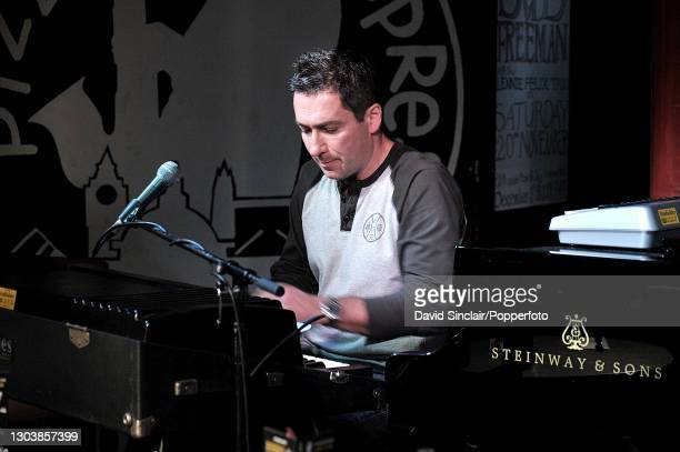 Pianist Peter Horvath performs live on stage at PizzaExpress Jazz Club in Soho, London on 13th May 2010.