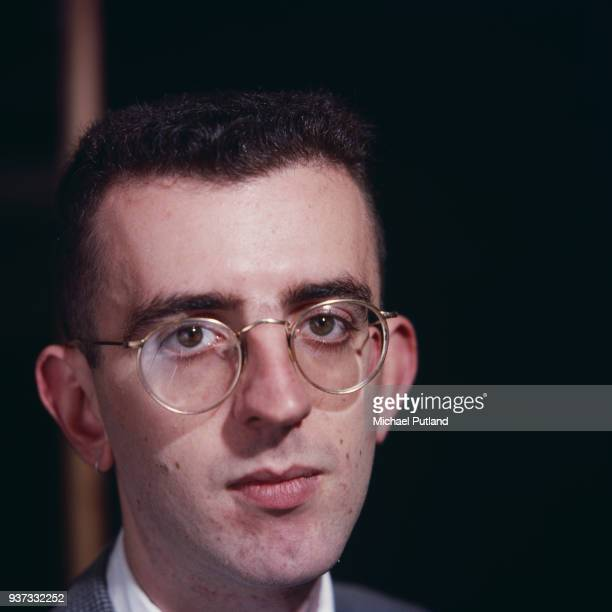 Pianist Richard Coles of British pop duo The Communards, London circa 1985.