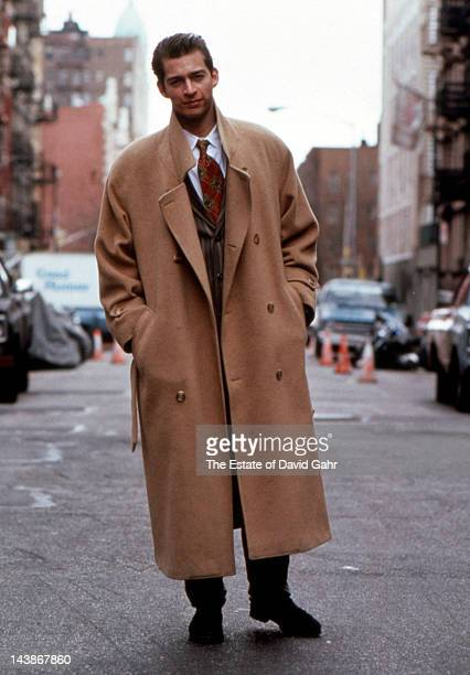 Pianist singer and actor Harry Connick Jr poses for a portrait on February 25 1988 in New York City New York