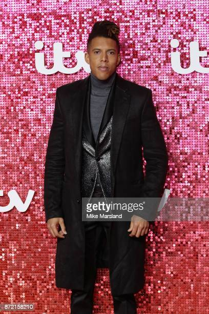 Pianist Tokio Myers arrives at the ITV Gala held at the London Palladium on November 9 2017 in London England