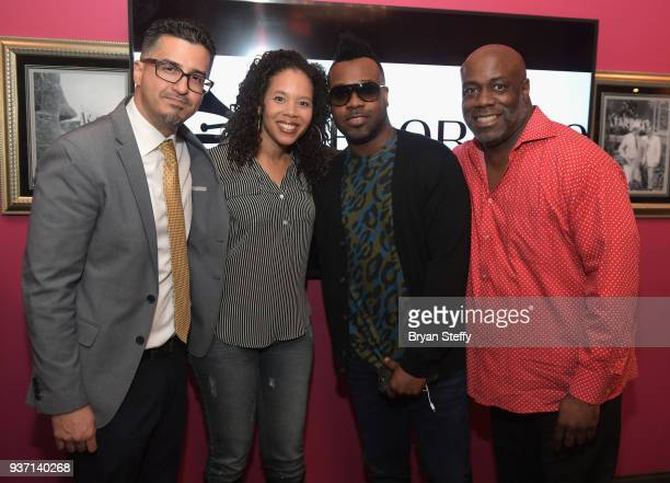 Pianist Uziel Colon The Recording Academy Director of Outreach Kelley Purcell singer VaShawn Mitchell and The Recording Academy Chicago Chapter...