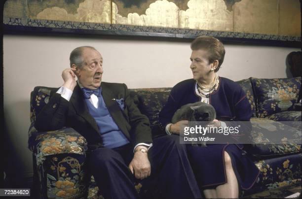 Pianist Vladimir Horowitz with his wife Wanda