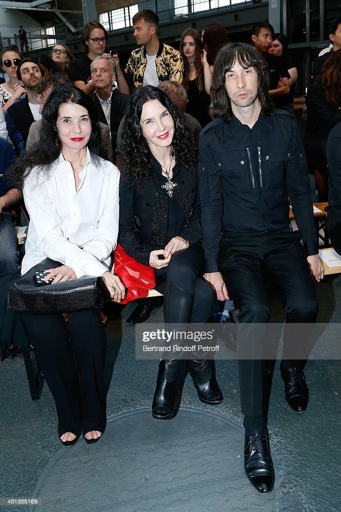 Givenchy : Front Row - Paris Fashion Week - Menswear S/S 2015