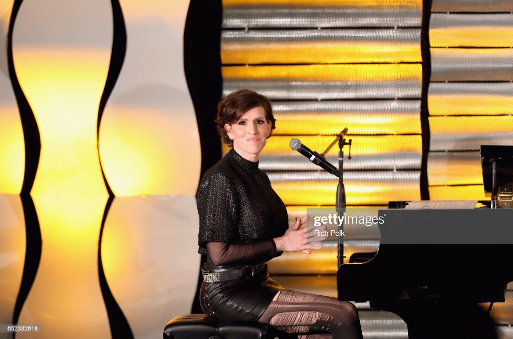 Pianist/television writer Our Lady J performs onstage at the Family Equality Council's Impact Awards at the Beverly Wilshire Hotel on March 11, 2017 in Beverly Hills, California.