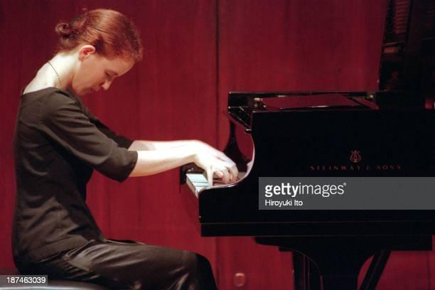 Piano Century at Paul Hall at the Juilliard School on Tuesday night November 23 1999This imageOfra Yitzhaki