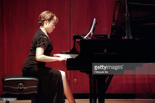 Piano Century at Paul Hall at the Juilliard School on Tuesday night November 23 1999This imageNellie Seng