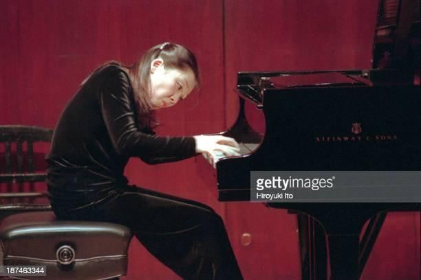 Piano Century at Paul Hall at the Juilliard School on Tuesday night November 23 1999This imageAkiko Chiba