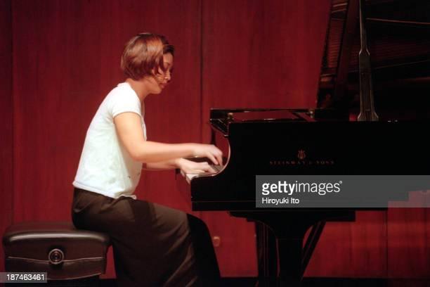 Piano Century at Paul Hall at the Juilliard School on Tuesday night November 23 1999This imageJihea Hong