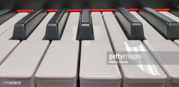piano keyboard detail organ synthesizer sign
