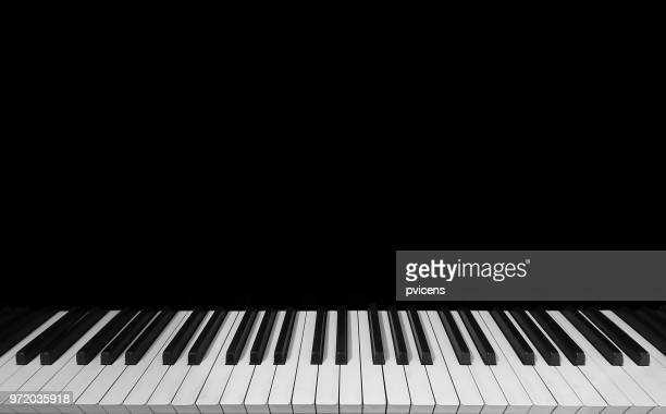piano keyboard - ピアノの鍵盤 ストックフォトと画像