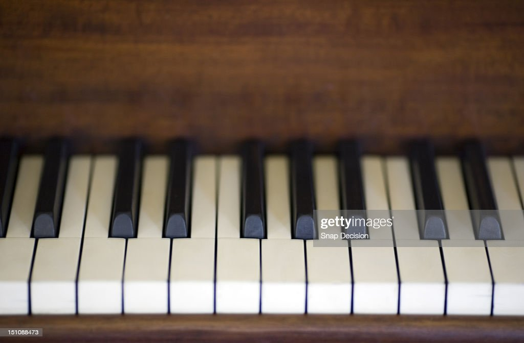 Piano keys : Stock Photo