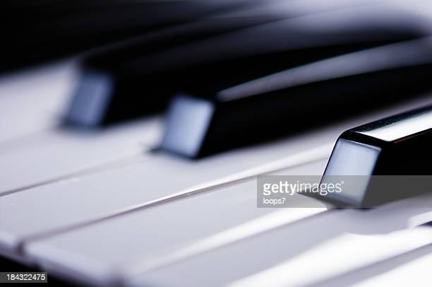 piano keys - klaverin och tangentinstrument bildbanksfoton och bilder
