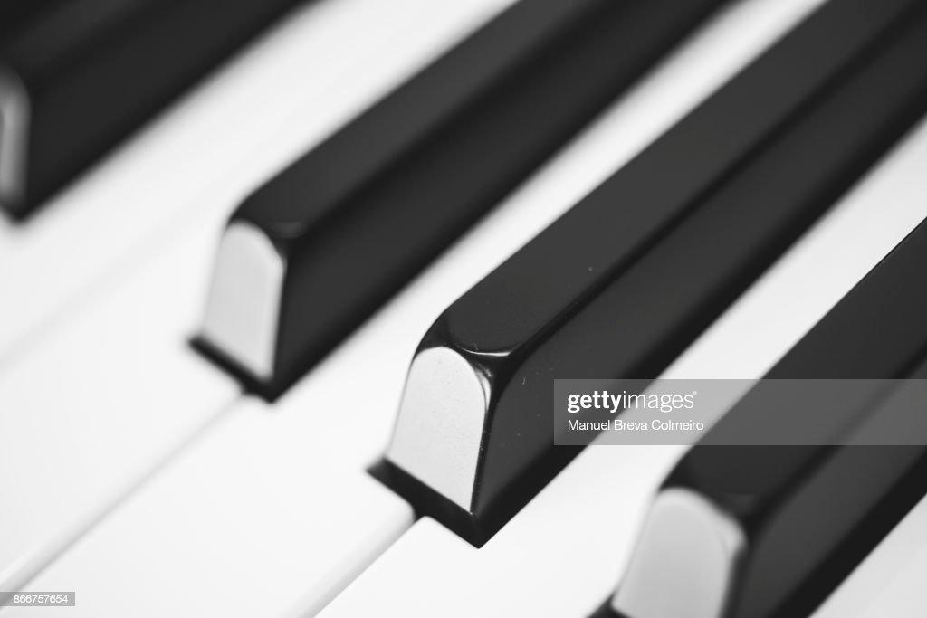 Piano keys : Stock Photo
