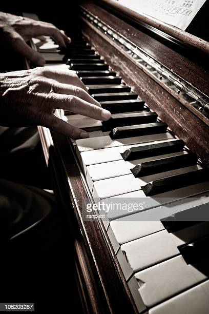piano man - blues music stock pictures, royalty-free photos & images