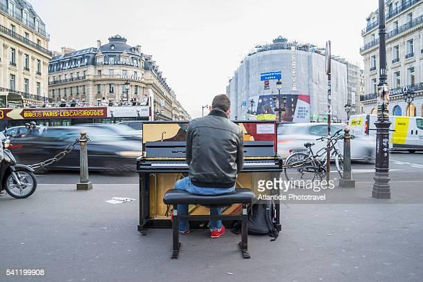 Piano performance at Opera Square
